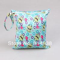 Patterns/Colors Diaper Zipper Wet bag 15pcs in large size