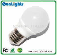 B22 E27 E14 dimmable led bulb 2835 SMD high lumen LED lights 3W 300lm  Warm White / Cool White AC 220V-240V lamp