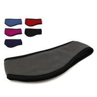 The new 2014 spring Polar Fleece Ear band Muff Warmer Wrap Headband unisex free shipping
