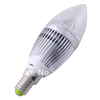 10 pcs E14 Candle light Dimmable CREE 12W VS 45W / 9W VS 35W Replacement High Power Light LED Bulb Downlight Free Shipping 265V