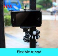 2014 NEW Dedicated Phone Tripod Small Gorillapod 360 Swivel Head + Phone Clip Holder for Smart Mobile Phone