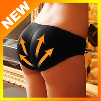 Free shipping 5pcs Charming Sexy Women Padded Seamless Butt Hip Enhancer Shaper Panties Underwear