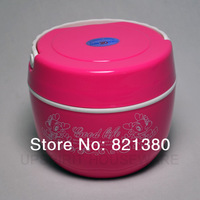Free shipping 800ml thermal food storage box ,thermal lunch box,dinner pail,thermo bento box dinner bucket,canteen mess tin