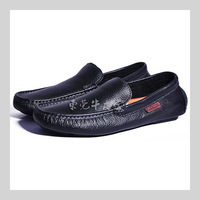in stock! Plus Size! High Quality men loafers shoes pea shoes men driving shoes genuine leather shoes breathable size:39-45