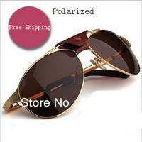 The Brand T8200586 sunglasses men polarized driving/fishing Sun Glasses designer sunglasses for men glasses with original box