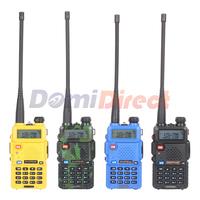 Baofeng Walkie Talkie Dual band VHF&UHF Baofeng UV-5R 136-174MHZ 400-520MHZ 128channels add Nagoya NA-771 Antenna