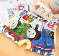 12pcs/dozen lycra cotton 1-12 age kids/children boys cartoon image   flat  underwear panties, underpanties/underpants