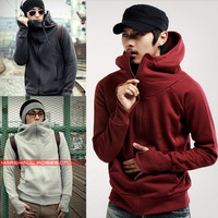 Hot Mens Fashion Slim Fit Sexy Top Designed Hoodies Jackets Coats 5 Color 4 Size