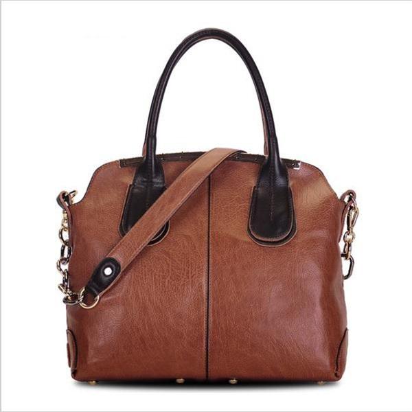 2014 women leather handbag fashion vintage shoulder bag British style women messenger bag new crossbody bolsas shoulder bag tote(China (Mainland))