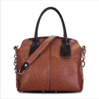 2015 Women Leather Handbag Fashion Vintage Shoulder Bag British Style Women Messenger Bag New Crossbody Bolsas Shoulder Bag Tote