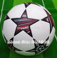 Free shipping  soccer ball/football,TPU material,,free with ball pump+net bag+2pcs needle.Shipped randomly