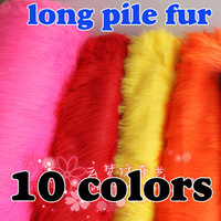 "16 colors, SOLID SHAGGY FAUX FUR FABRIC (LONG PILE FUR), costumes,  Photography backdrops , 60"", SOLD BY THE YARD, FREE SHIPPING"