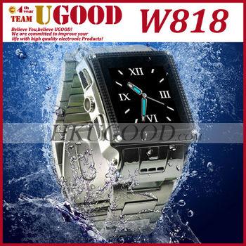 SG Post Freeshipping! W818 Waterproof Watch Mobile Phone, Single Sim, Water Proof Grade IP67 Unlocked Instock!