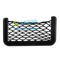 New arrival Car Organizer Pockets Net 15X8cm Net Bag Automotive with Adhesive Visor b11 10710