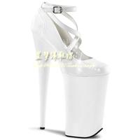 [(My God)] Free shipping 2014 new bridal 15cm 20cm ultra high heels single women star performance dress wedding party sexy shoes