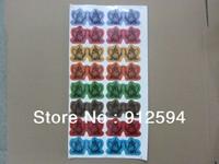 Colorful Custom Die Cut Teapot Stickers