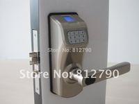 2014 Free Shipping Inside Office Door Digital Door Lock Outside Biometric Glass Door Lock