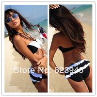 Hot Sale Korea lovely Bikini Women Swimsuits High Quality bowknot Bikini