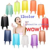 New Fashion Summer Sunscreen Shirt Women Long-sleeve Sun Protection Clothing Ultra-thin Anti UV Cardigan Cape
