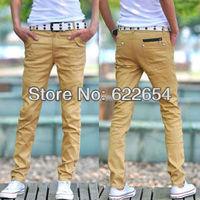 Men's clothing 2013 men casual pants slim trousers fashion male skinny pants 621