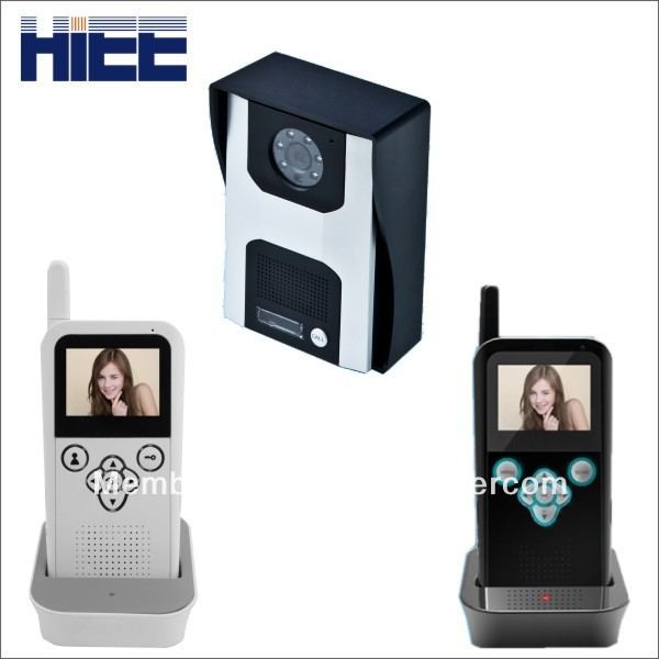 300m long distance 2.4g digital video door phone intercom system with IP 65 water proof(China (Mainland))