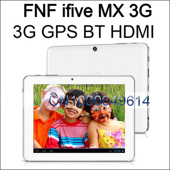promotion 5MP camera WCDMA 3G GPS tablet pc 8''  RK3066 dual core 16GB/1GB android 4.1 IPS bluetooth wifi FNF ifive MX white