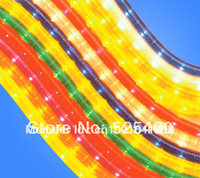 25M Waterproof 1500PCS red led strip  light  220V 5050 SMD home garden