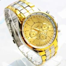 2014 new watch Wholesale 18k gold plated quartz wrist watch men luxury brand Rosra jewelry hight quality