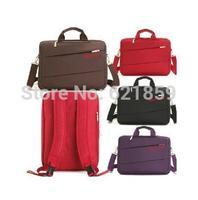 shoulder double-shoulder multifunctional backpack 14 15 male women's laptop bag handbag