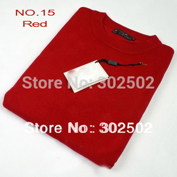Retail HIgh quality Men's casual O-collar sweater  Wholesale  . free shipping