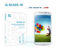 1PCS S4 Glass Screen Protector, 100% Original 0.4MM GLASS-M Tempered Glass Screen Protector For Samsung Galaxy S4 i9500!