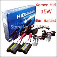 Car Xenon HID kit H1 H3 H7 H8 H9 H10 H11 9005/HB3 9006/Hb4 880 881 12v 35w color 3000k,4300k,6000k,8000k,10000k,12000k #2111L