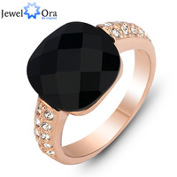 Charm Party Jewelry Gold Ring For Women #RI100889 Christmas Gift  Luxurious Rose Gold Plated Ring