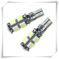 free shipping special offer 4pcs T10 9 SMD Canbus White Color NO OBC ERROR Auto LED Light Bulbs