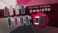 Free shipping!Ultra light exceed short 190 grams QingYuSan fifty percent umbrella rain or shine amphibious umbrella uv umbrella
