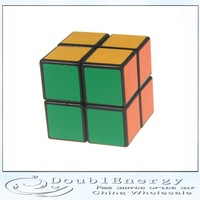2x2 YJ Magic Intelligence Test Cube Black  free shipping