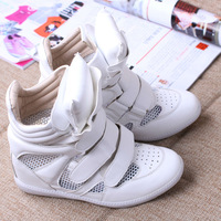 Factory direct sale isabel marant sneakers   Red+Black+Blue Boots Height Increasing Sneakers Shoes casual shoes  women's shoes
