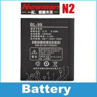Original Rechargeable Newman n2 battery BL-98 accumulator 2500mAh Free shipping