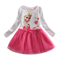 2014 New girl summer dresses Fashion kids clothing childrens tank top dress  the beach dresses fit 2-5 yrs free shipping