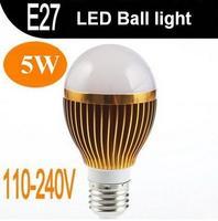 (50pcs/lot) E27 5W 10W 15W Dimmable LED bulb light 85-265V 5*1W 5*2W 5*3W LED lamp Bubble ball light warm white cool white
