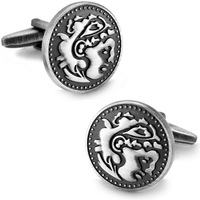 SPARTA Antic Silver Plated Frosted Auspicious Cloud Basso-Relievo cufflinks men's Cuff Links + Free Shipping! gift metal buttons