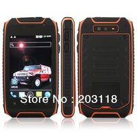 Hummer H1+ MTK6572 Dual Core IP57 Waterproof 3.5 Inch Screen 512MB 4GB Android 4.2 Smart Phone Dual Cameras Bluetooth