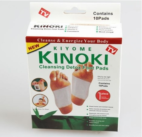 Retail Box ! 10 Boxes Cleansing Detox Foot Kinoki P