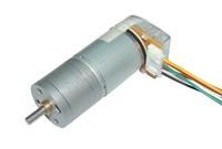 DIY 6-24V 100rpm Dc gear motor encoder encoder slowdown motor with speed line AB 334 encoder