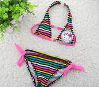 Factory Wholesale 7pcs/lot cut cartoon Charmmy Kitty Sexy Bikini swimsuit for Child