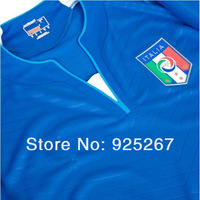 free shipping,top thailand quality,soccer jersey,2014 world cup  Italy home football jerseys,soccer uniform,