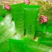 Free Shipping!!!Chinese brand cosmetics, aloe vera gel 13g natural face cream,Acne pearl cream,10pcs facial cleanser,bb cream