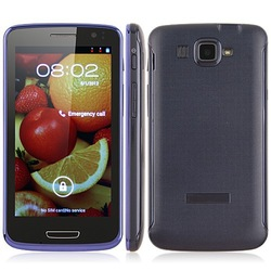 In stock Hero V6888 Smart Phone Android 4.0 MTK6577 Dual Core 3G GPS 4.7 Inch IPS Screen- Blue(China (Mainland))