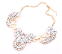 Min Order Is 15 $ Free Shipping  Fashion Unique Exaggerated Luxurious Statement Jewelry Gems For Women Jewelry BL3113