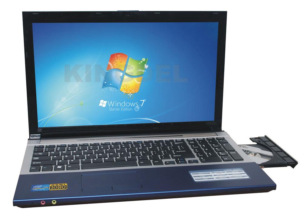 "KINGDEL 15.6"" DVD-RW Laptop Notebook Computer, Intel D2500 Dual Core 1.86Ghz, WiFi, Webcam, Bluetooth, 1080P HDMI(China (Mainland))"